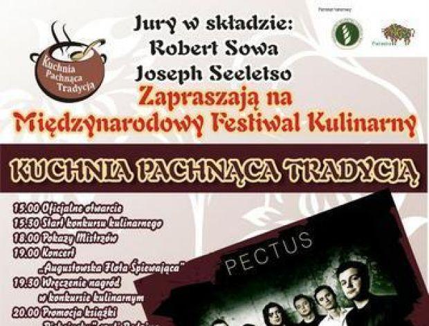 W Augustowie Międzynarodowy Festiwal Kulinarny