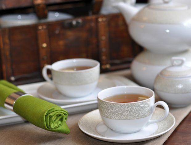 W czym podać herbatę?