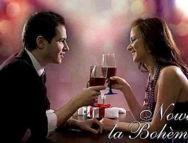 Walentynkowa kolacja w Nowa La Boheme