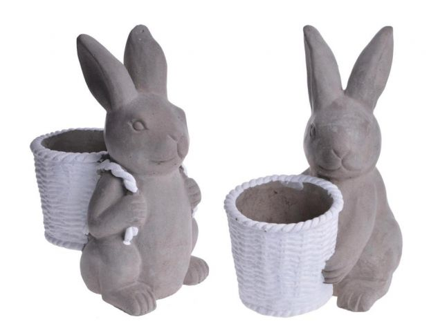 Wielkanocne figurki zajączków