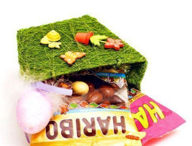 Wielkanocny koszyczek Haribo