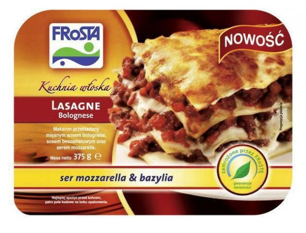 Włoskie dania gotowe FRoSTA