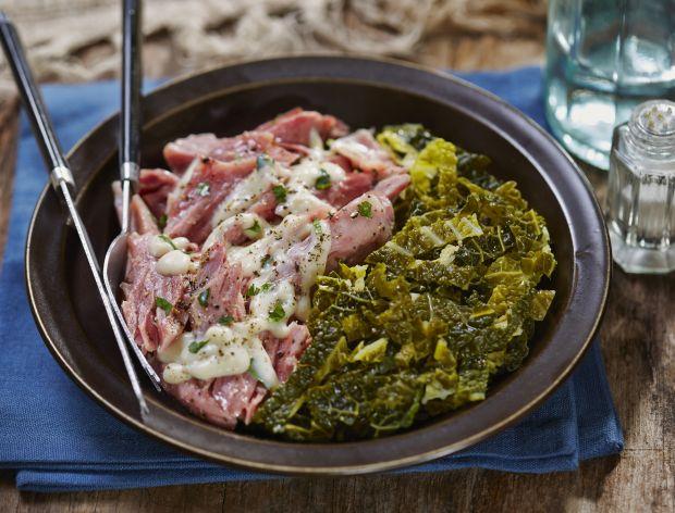 Wołowina w sosie chrzanowym