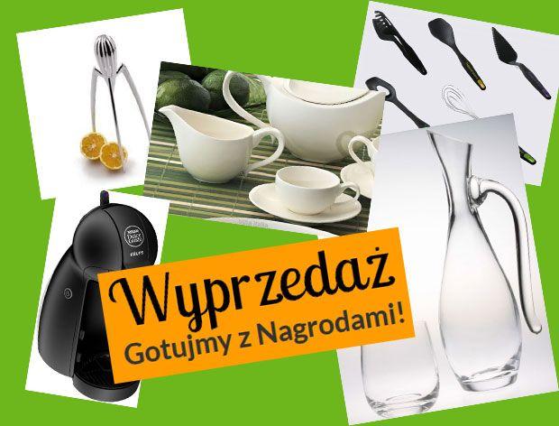 Wyprzedaż produktów z katalogu Gotujmy z Nagrodami!