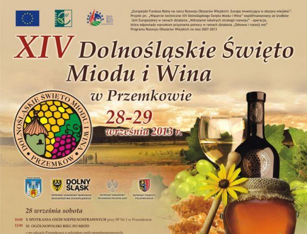 XIV Dolnośląskie Święto Miodu i Wina w Przemkowie