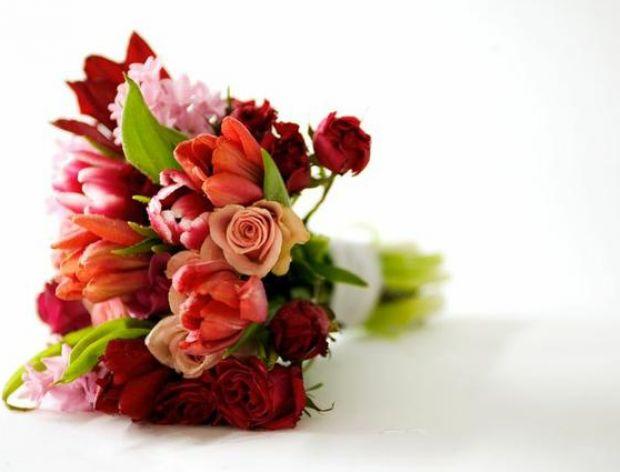 Z bukietem róż nie mogę przyjść