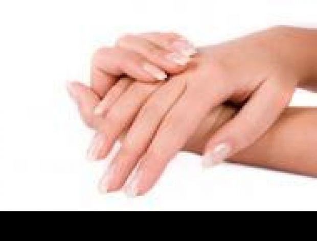Zabarwione dłonie
