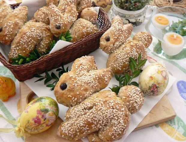 Wielkanocne zajączki pszenne