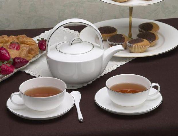Zestaw porcelany do herbaty