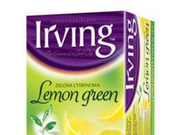 Zielona herbata Irving Lemon Green