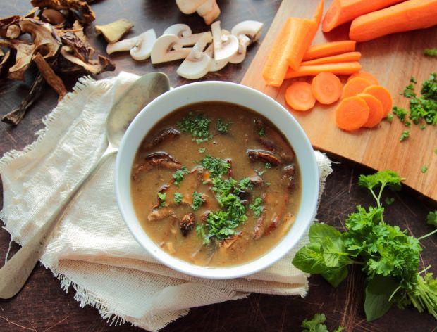 Zupa grzybowa z podgrzybkami