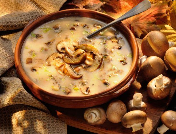 Jak ugotować zupę grzybową?