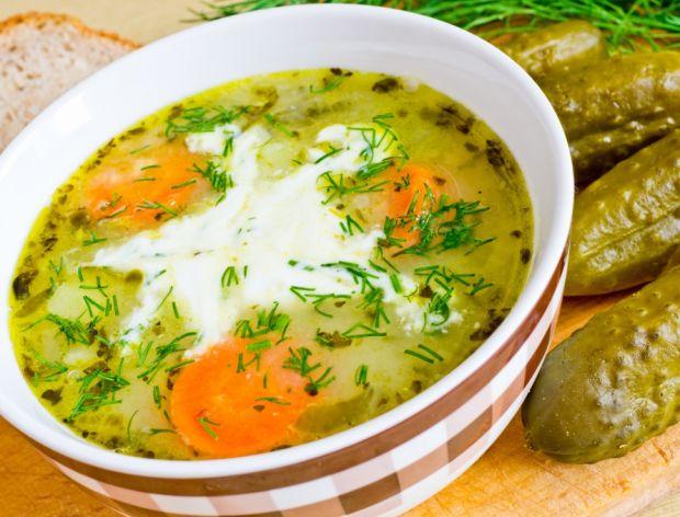 Jak zrobić zupę ogórkową?