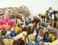 Borówkowy mini sernik w czekoladowym pucharku