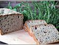Chleb na zakwasie z czarnuszką