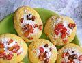 Ciasteczka nagietkowe z rabarbarem