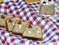 Ciasto białkowe z makiem i gruszką