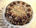 Ciasto orzechowo - czekoladowe
