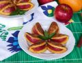 Dyniowo-pomarańczowe ciasteczka z jabłkami