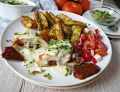 Filet z kurczaka z suszonymi pomidorami w sosie