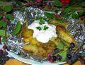 Grillowane czosnkowe ziemniaki
