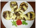 Grillowane gruszki Eli z wątróbką i serem