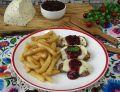 Grillowane polędwiczki z serem korycińskim