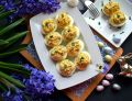 Jajka faszerowane pieczarkami i parmezanem