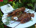 Kabaczety z grilla z sosem tzatziki