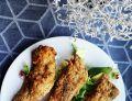 Kąski z kurczaka w panierce z siemienia