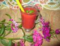 Koktajl arbuzowo - truskawkowy