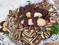 Kruche ciasteczka z polewą czekoladową