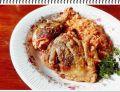 Kurczak Eli zapiekany z czerwonym ryżem