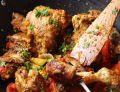 Kurczak z sezonowymi warzywami