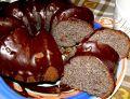 Makowa babka z pomarańczowo-czekoladową polewą