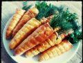 Marchewki z sałatką
