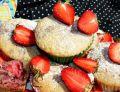 Mięciutkie babeczki z truskawkami
