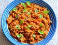 Mięso z sosem  pomidorowym