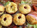 Muffiny z gotowanym jajkiem i mini kabanoskami