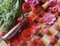 Nalewka malinowo-różana