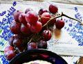 Owsianka na wodzie z winogronem i syropem klonowym