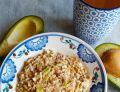 Pasta z awokado, tuńczyka i jajek