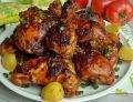 Pieczony kurczak w sosie barbecue