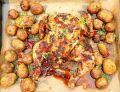 Pikantny kurczak piri-piri z młodymi ziemniaczkami