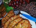 Placki ziemniaczane z kiełbasą żywiecką