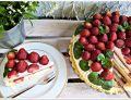 Podwójnie truskawkowy tort