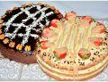 Podwójny tort śmietanowy