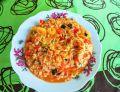 Potrawka z krewetkami w sosie pomidorowym