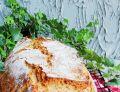 Pszenny chleb z gruszką i płatkami orkiszowymi