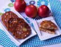 Racuchy z jabłkami z mąki pełnoziarnistej